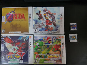 Various 3DS Games and Case