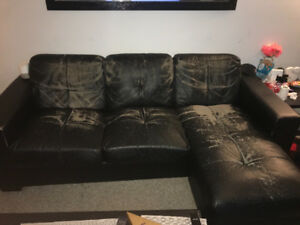 Free Black Sectional Couch