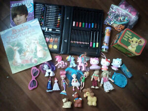 girl toy lot plus two beautiful fairy puzzle books (see photos)