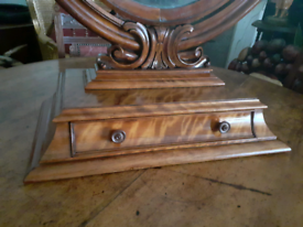 Antique larger than normal mirror