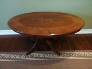 solid wood oval dining table for sale ____________