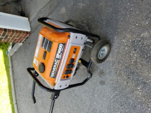 Generac XP4000 pro generator. Great shape. Electronics safe!