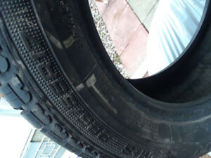 Winter tires 225/55R17 Goodyear Ultragrip