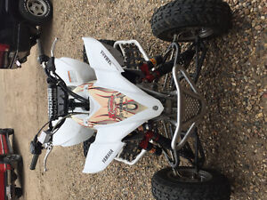 YFZ 450 mint condition with extreme extras.