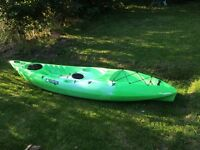 Tootega kinetic 100 sit on top kayak