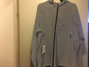 Nike 3M All Over Reflective Running Jacket Sz M