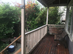 Large 2BR & Den in a Character Home
