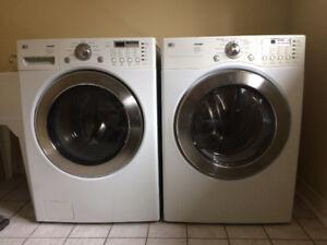 LG laundry Pair white