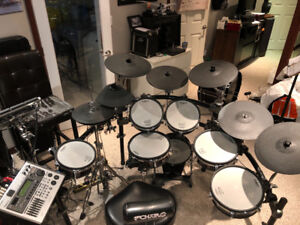 Roland TD20S-BK with expansion card for sale