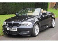 BMW 118 2.0TD auto 2012MY d M Sport AUTO/CONVERTIBLE/30000 MILES/One Owner