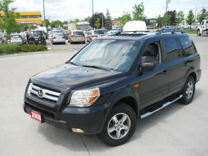 2008 Honda Pilot  4WD, 8 pass,DVD, Sunroof, 3/Y warranty availab