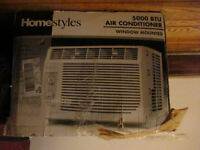For Sale. HomeStyle Air conditioner 5000 BTU.