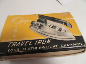 OMEGA TRAVEL IRON - 1950's - HEATS UP - OLD