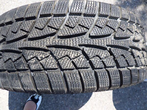 Saliun Ice Blazer Winter Set of Tires235 55 18 – 99% TREAD
