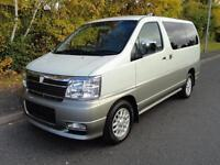 2001 Nissan Elgrand 3500 18000 MILES FRESH HIGH GRADE IMPORT 4dr