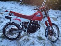 Honda xr250 road legal