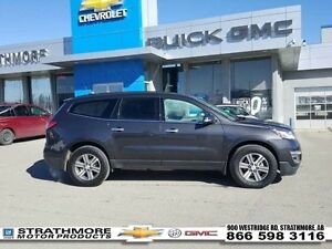 2016 Chevrolet Traverse Low km-Leather-Alert Pkg-Tow Pkg-DVD...