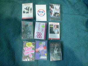 cassette de music (vintage & tres rare) sceller neuf et usager