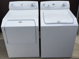 Large Capacity Maytag Washer Dryer Set, 1 2 month warranty