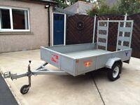 Plaxton Galvanised trailer