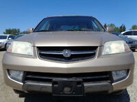 2002 Acura MDX LUXURY PKG-LEATHER-SUNROOF--AMAZING SHAPE