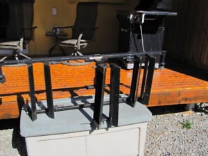 Motor cycle truck bed rack