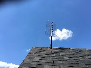 HD TV Antenna and installation complete package $240