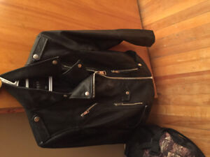 Brand new  Women's Guess Leather Jacket