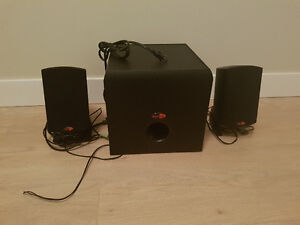 Klipsch Promedia 2.1 Speak and Sub!