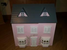 Wooden Dolls Playhouse