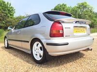 Stunning Honda Civic 1.6 VTI 3 door Hatchback (only 90k miles) Mint condition! MUST SEE!!