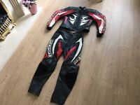 "Hein Gericke Motorbike Leathers. Jacket 38-40"" & Trousers 36"" Excellent Condition Rst Alpinestars"