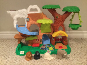 Fisher Price Little People or VTech  sets