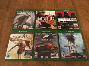 Six xbox one games - selling together as a bundle