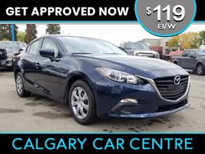2015 Mazda3 $119B/W TEXT US FOR EASY FINANCING! 587-317-4200