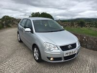 2009 Vw Polo 1.4 Tdi Match 5 door £30 Tax. Finance Available