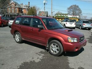 2004 Subaru Forester XT: Leather, Sun Roof, Auto,Drives Great!