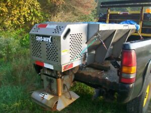 Sno Way truck sander with in cab controls stainless hopper Nice!