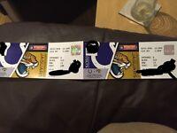 Jacksonville Jaguars vs Indianapolis Colts Sunday 2nd October NFL Wembley