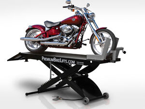 Motorcycle Service Lift: Complete Package: All-In-One