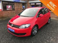 Volkswagen Golf Plus 1.6TDI Turbo Diesel ( 105ps ) SE 5 Door MPV