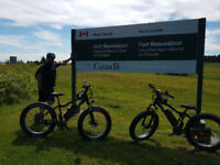 Electric Biking  Day Trip to Fort Beausejour - July 21st & 22nd