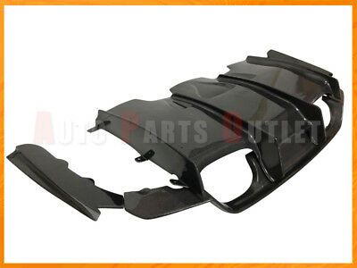 PSM Style Carbon Fiber Rear Diffuser 4pcs  For 2015 2018 BMW F80 M3 F82 M4 Only