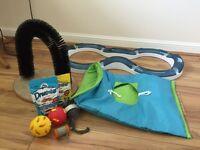 Cat toys and treats