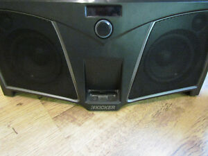 Kicker ik500 looks like all parts there, looks new, ipod use