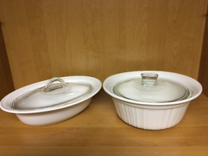 Corningware Covered Casseroles