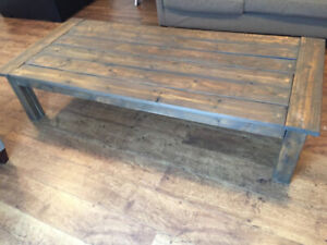 6ft Harvest style coffee table