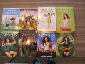 Collection série Weeds 8 coffrets