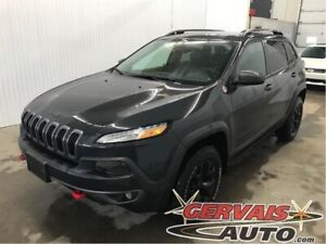 Jeep Cherokee Trailhawk V6 4x4 GPS Cuir Toit Ouvrant MAGS 2016