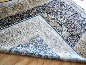 Tapis persan de collection, en soie tissé main 9'x6', qualité A+ West Island Greater Montréal image 3